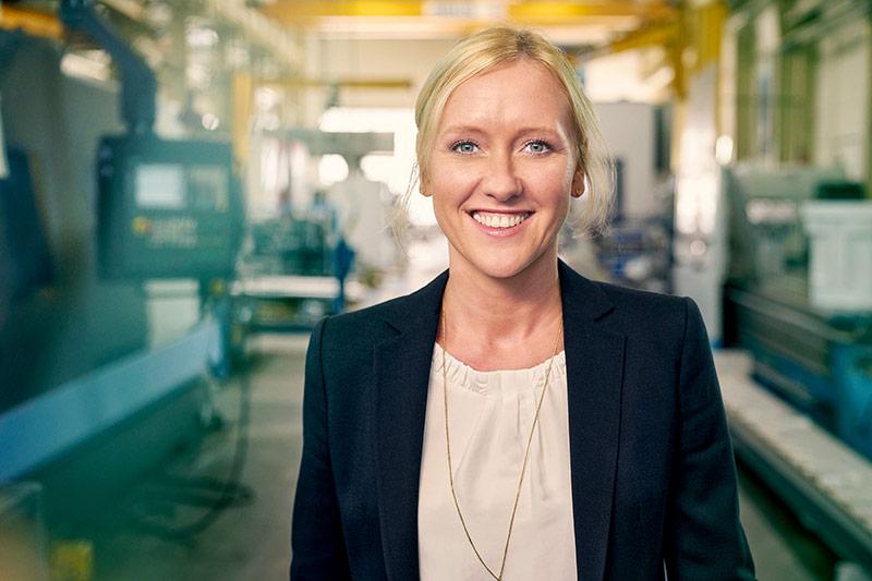 Melanie Baum - Geschäftsführerin von Baum Zerspanungstechnik